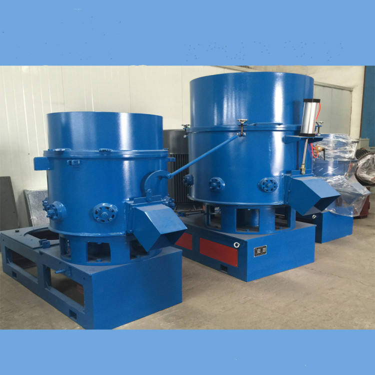 TURUI latest high output PP PE film waste plastic recycling granulating machine agglomerator