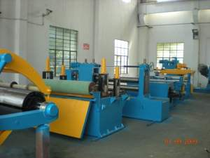 0.3-3x1600mm Complete production line used slitting line equipment coil for sale