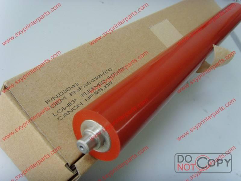 Rouleau de pression pour copieur canon np-1215 oem no.: fa6-3921-000 fabriqués en chine