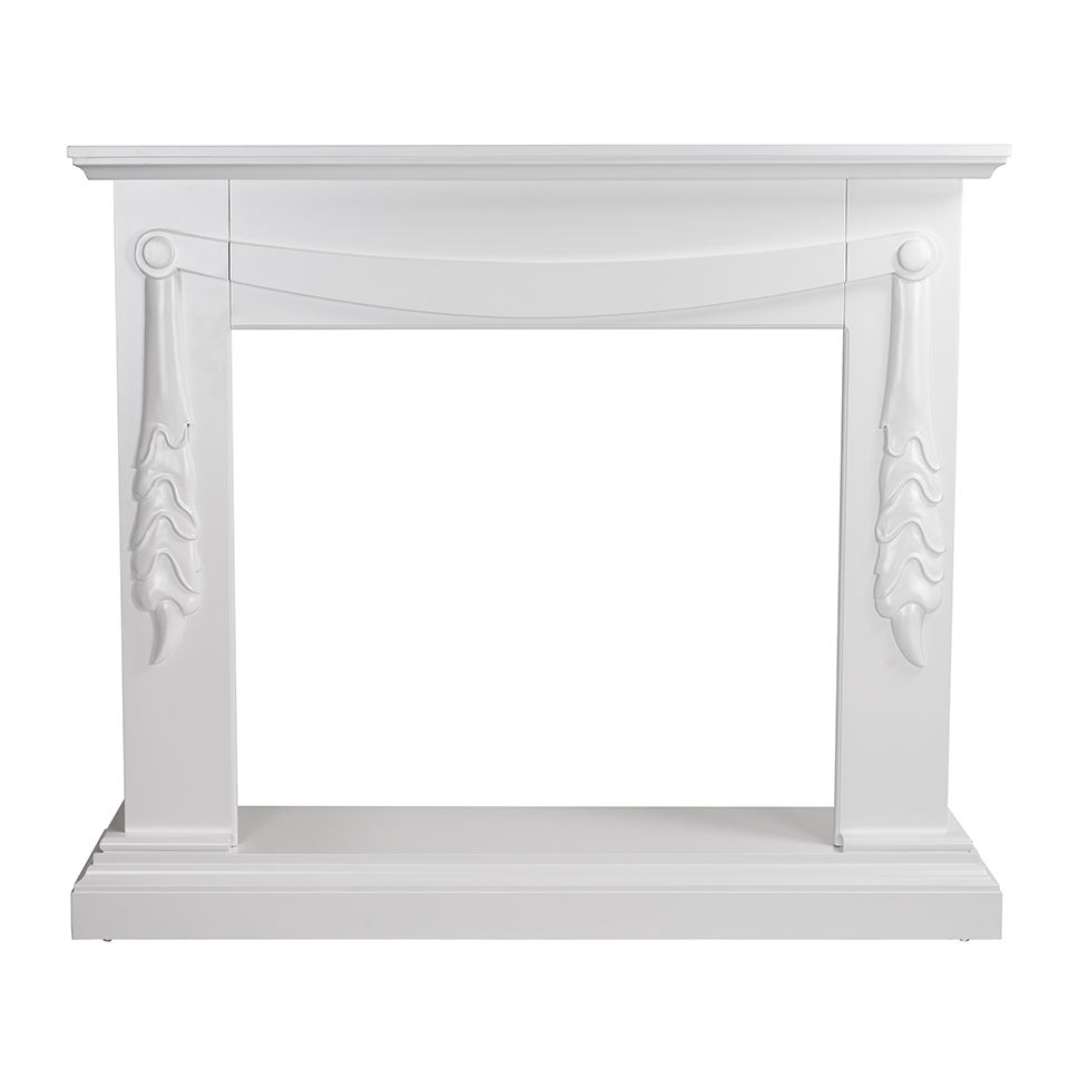 MDF fireplace mantel for electric fireplace