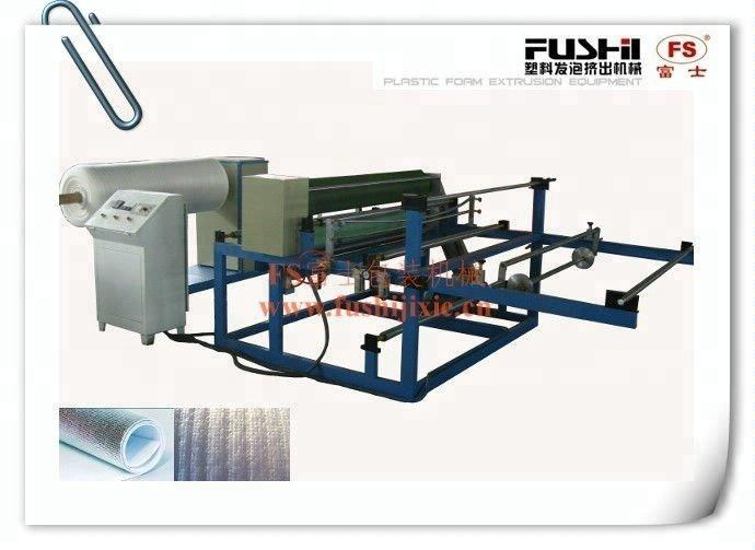 Pe Foam Lamination Machine Easy To Use PE Foam Sheet Laminating Machine For Household Appliances