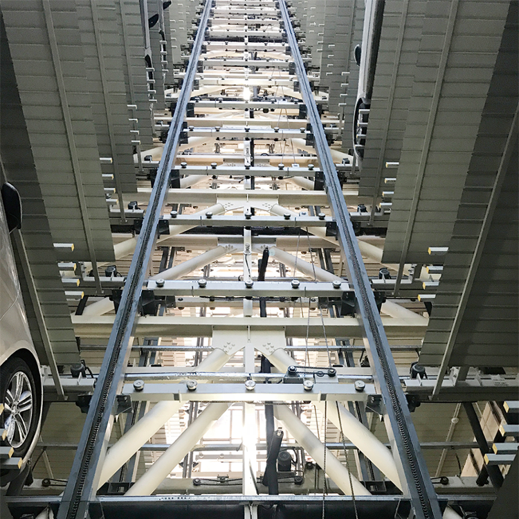 Tower Parking automated smart vertical elevator car park