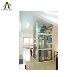 SL 320kg 400kg small home elevator 4 person lift size