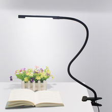 Flexible Night Reading Study Table Clip Clamp Led Desk Lamp