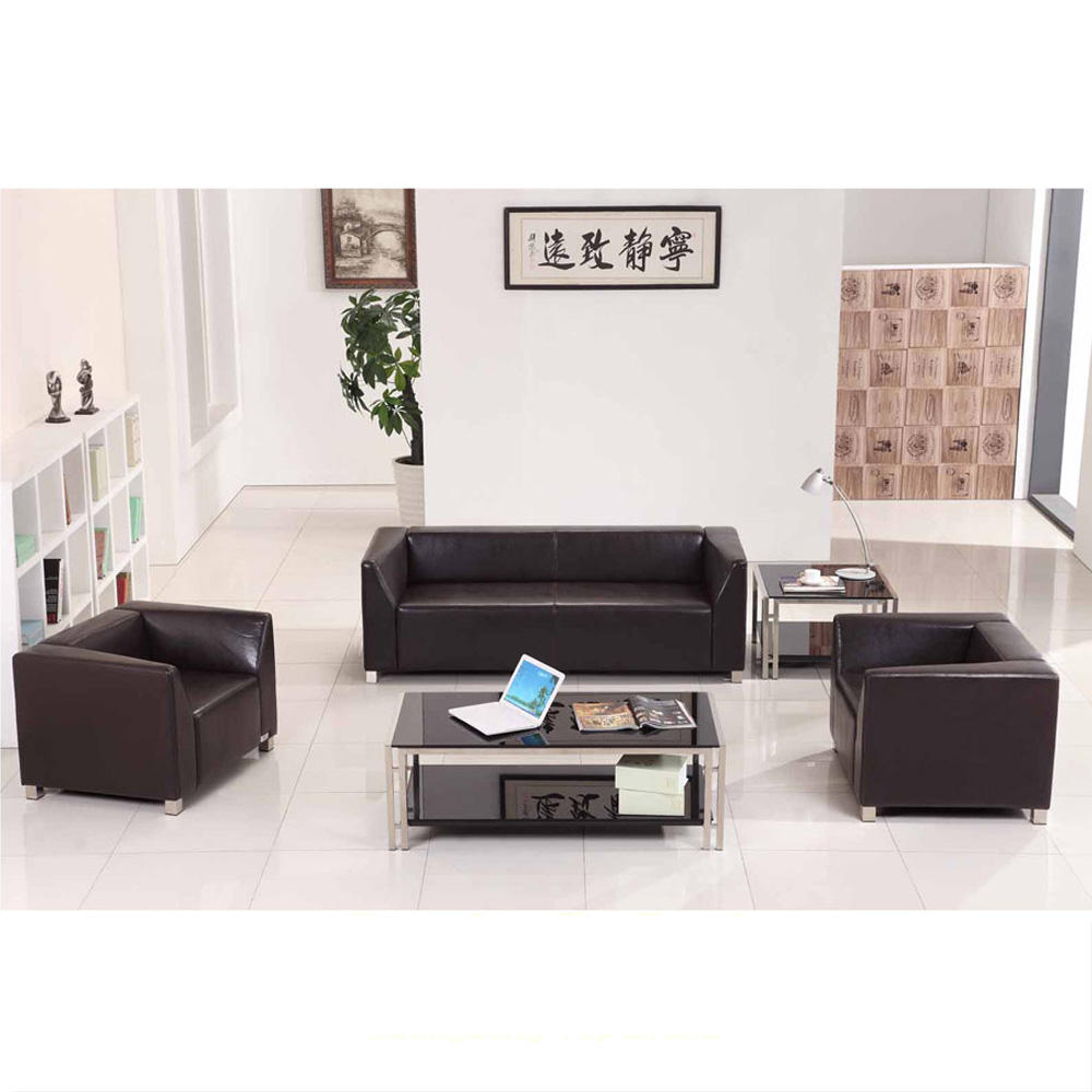 Shunde reception modern sofa set SJ894 for hotel office reception waiting area