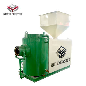 [ROTEX MASTER] Wood Pellet Gasifier For Green House