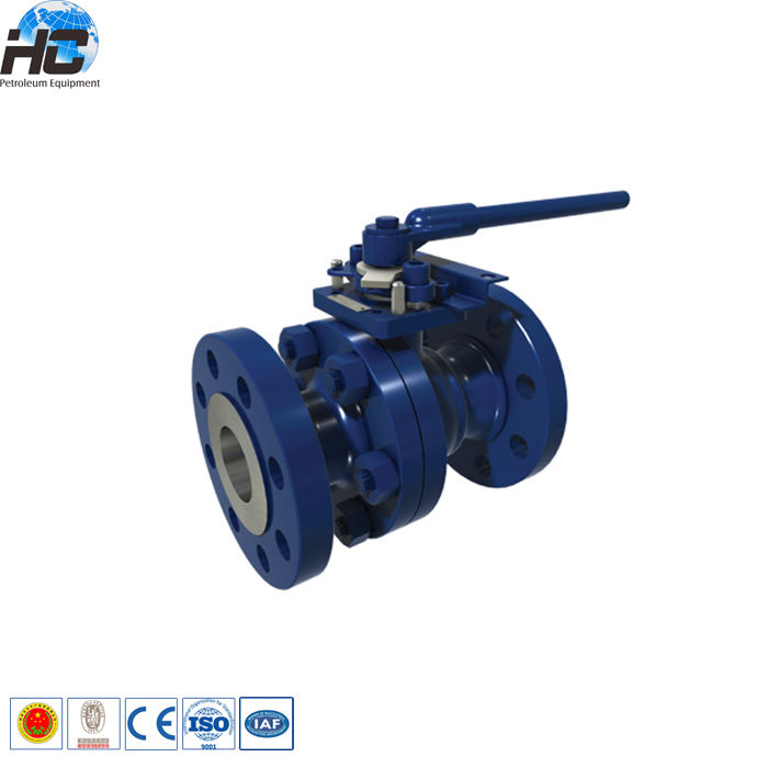 Stainless Steel Threaded Float Ball Valve/Flange Mengambang Ball Valve