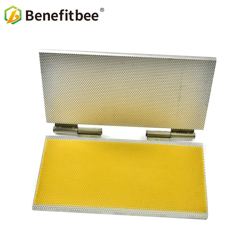Benefitbee Beeswax foundation sheet mold portable