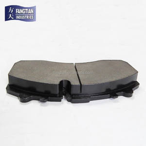 Hi-q Semi-metallic Brake Pad WVA 29087 Actros Brake Pads For Benz Truck