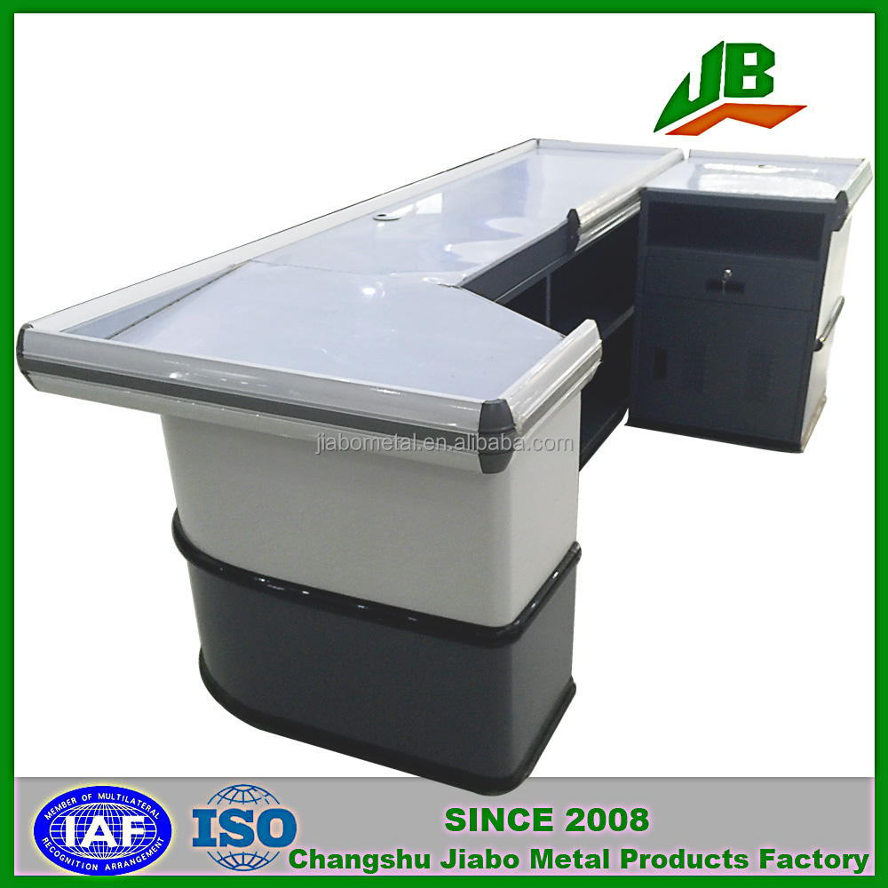 cash register counter electric forklift price checkout counters for sale
