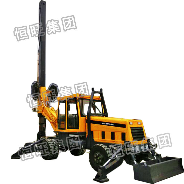 rotary Earth Drilling Machine Ground Screw Pile Driver for sale