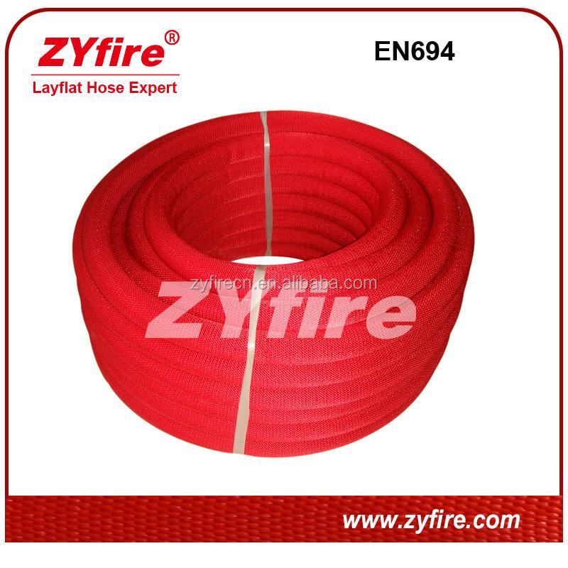 EN694 утвержден полужесткие пожарный шланг