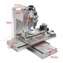 5 axis mini metal cnc milling machine