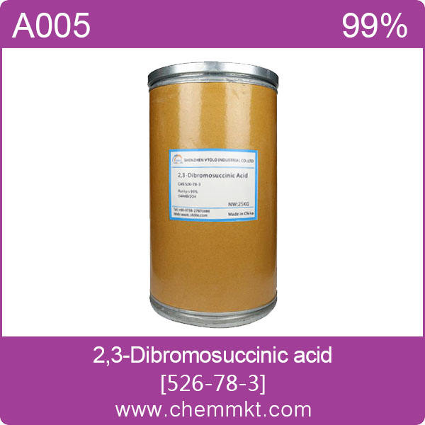 Meso-2, 3-Dibromosuccinic ácido/2,3-Dibromosuccinic ácido CAS: 526-78-3