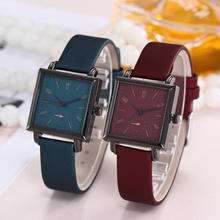 New girl latest hand watch leather japan movement quartz watch sr626sw for lady
