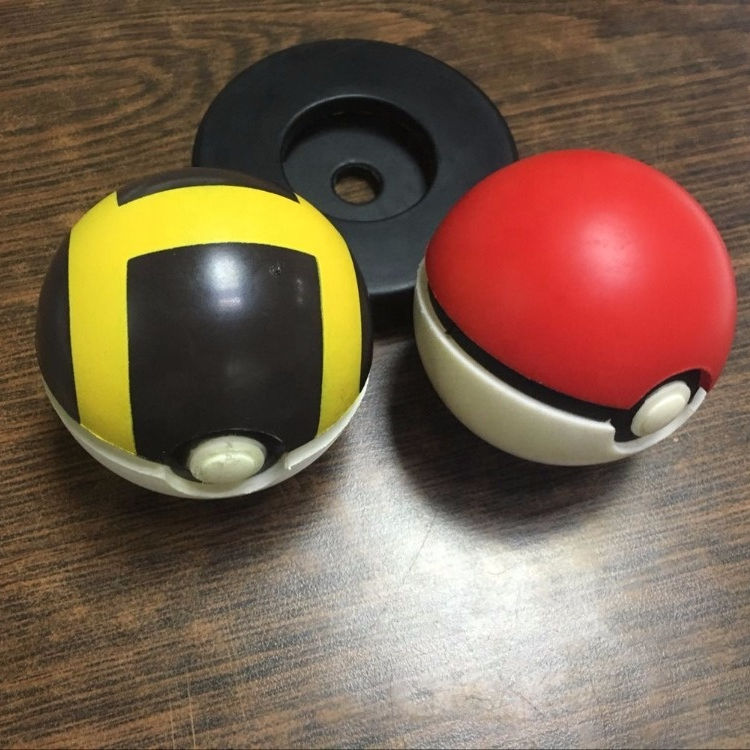 High Quality Promotional Pokemon shape stress ball Pokemon ball