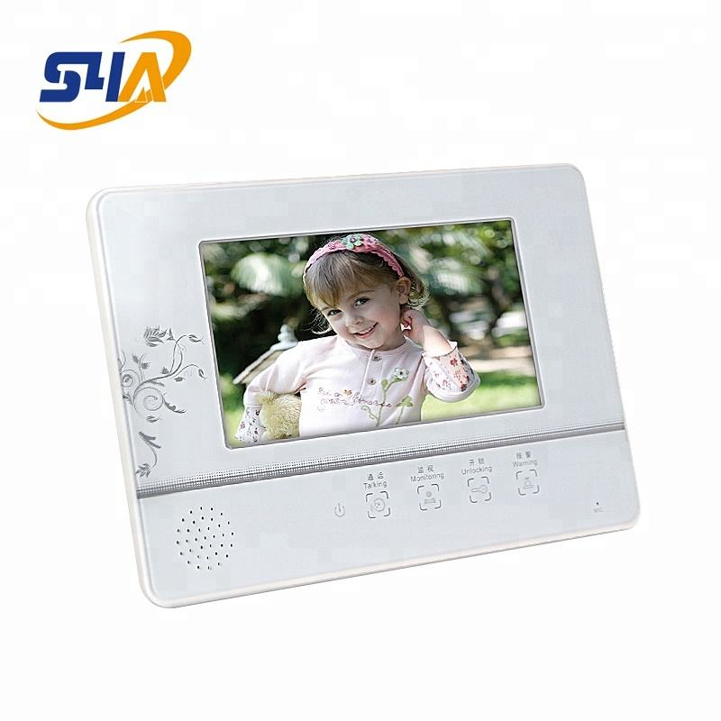 Touch Screen Video Door Phone Built in CCD Camera