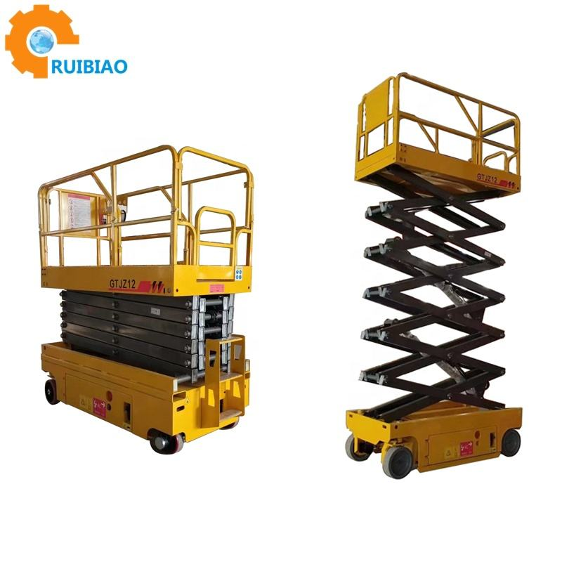 2019 sell well scissor lift electric/work platform lifts/Mobile work lift