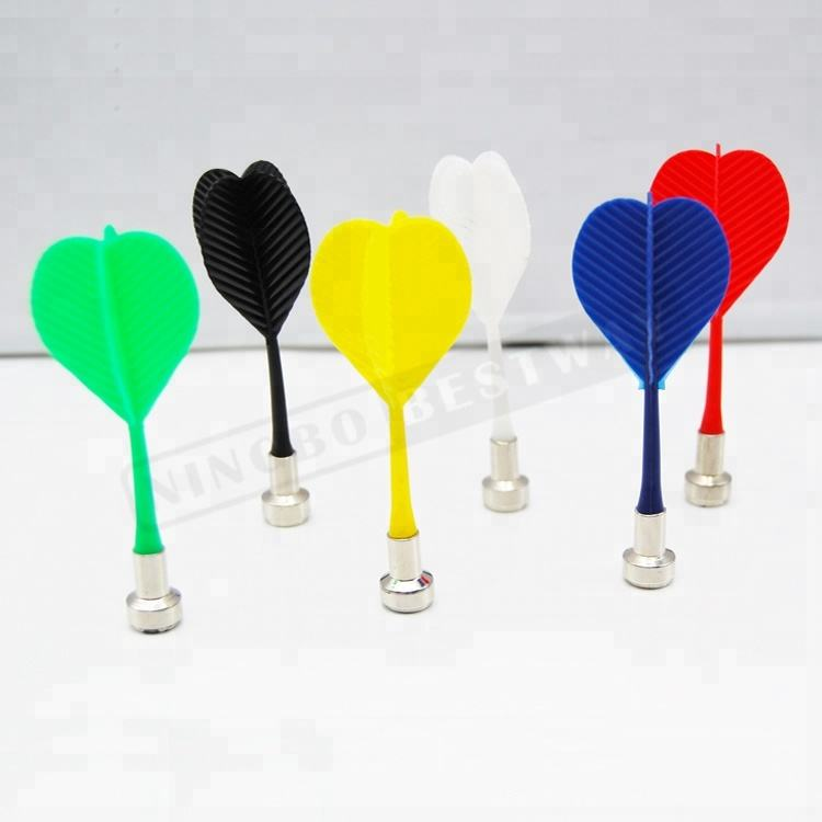 yellow red green blue white black plastic magnetic darts