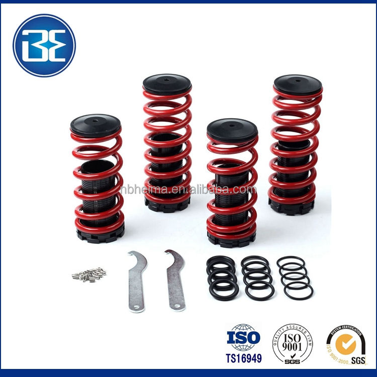 Coilovers springs lowering Red spring coil over with scale For 1998-2002 Accord