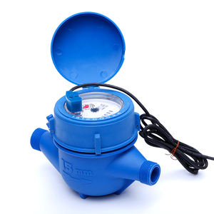 Multi jet dry type Malaysia ISO 4064 class B remote cold 15mm small nylon plastic water flow meter
