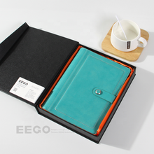 gift box professional a5 stationery mini pocket hot sale made in china leather hard cover notebook with pen personal logo