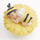 Wholesale cute bee child garden decoration resin toy craft