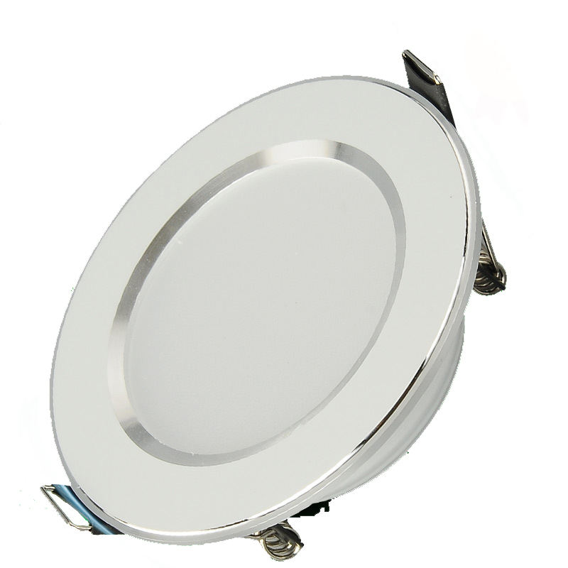 5W 7W 9W Waterproof LED Downlight Dimmable Warm White Cold White 3 Color Recessed LED Lamp Spot Light AC85-265V