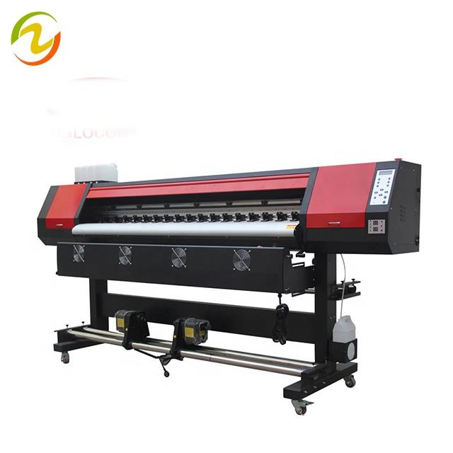 Factory Price!High Resolution 1.6m 1.8m XP600 Eco Solvent Printer
