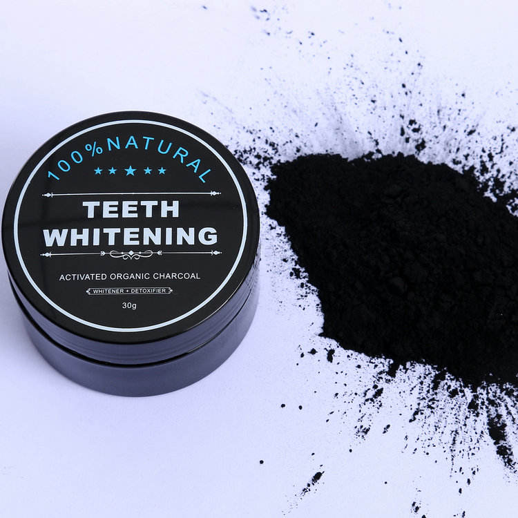 CE Approved Private Label Activated Charcoal Teeth Whitening Charcoal Powder Black Powder