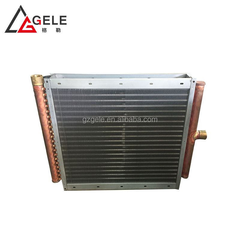 boiler bithermic heat exchanger with air steam oil