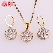 New Wholesale Price Latest 18 K Gold Plated Jewelry For Girls