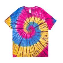wholesale cheap vintage tie dye two color t shirts