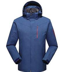 Men's Winter Windbreaker Jacket Insulated Overcoat Jacket