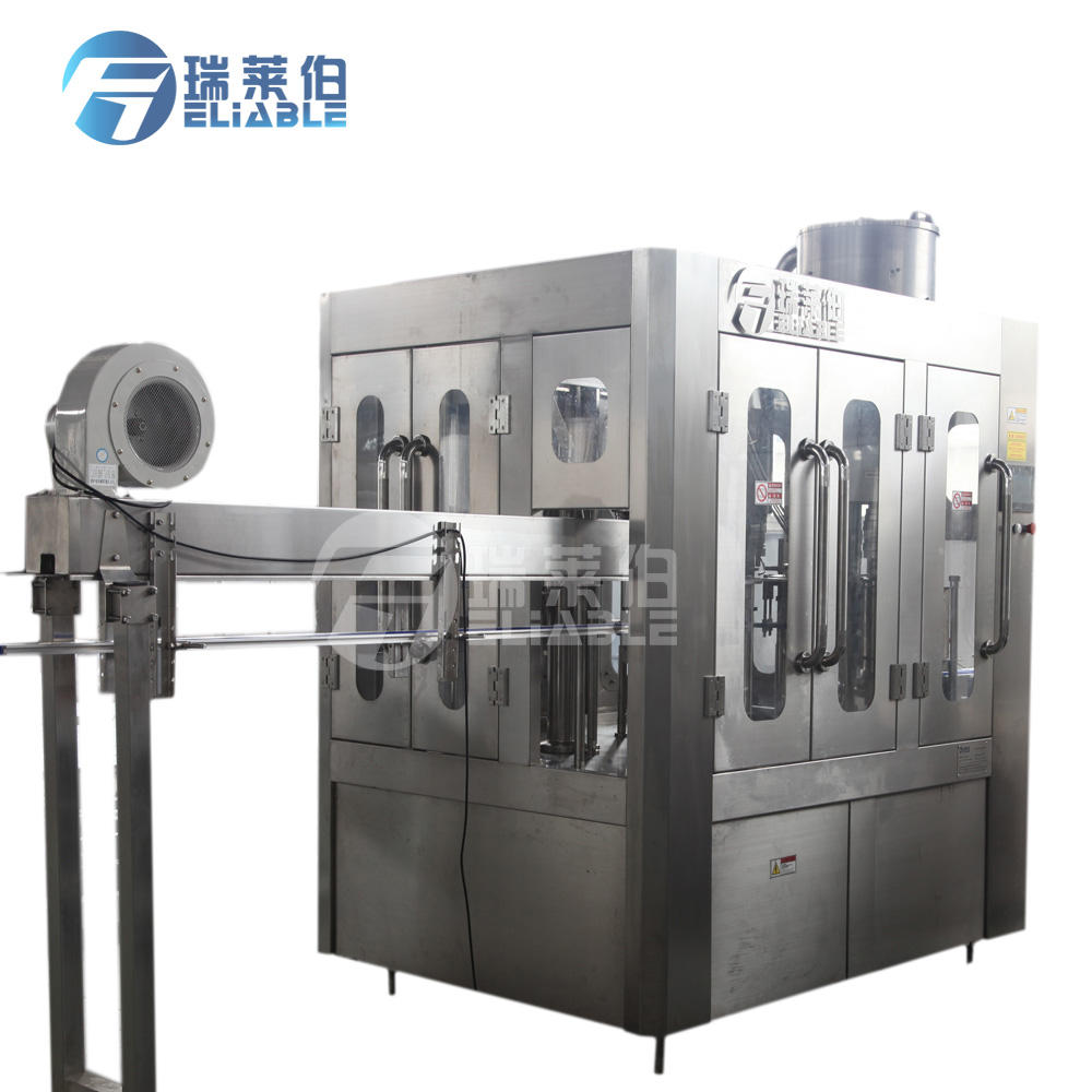 Small Business Sparkling Water Filling Machine / Small Water Plant Cost