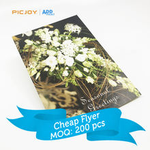High quality custom Seasonal Greetings card postcard leaflet online printing in shanghai