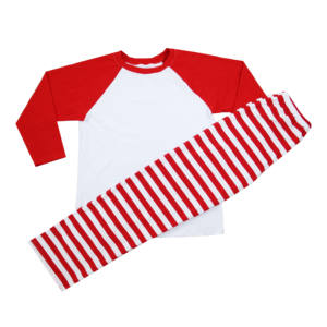 Kaiyo Christmas Girls Outfit For Fall Winter Spring Kids Blank Red Stripe Baby Boy Cotton Boutique Pajamas Outfits