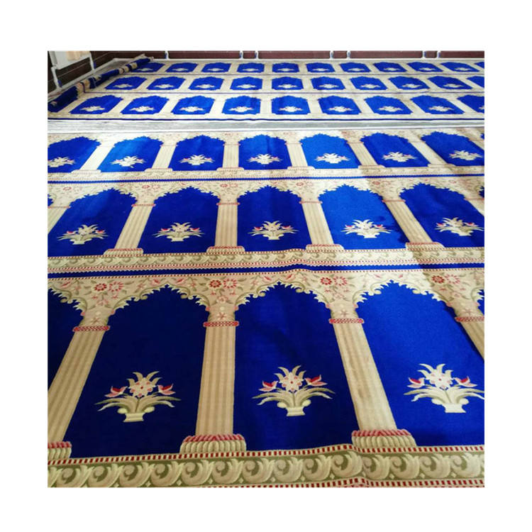 Factory Manufacture Polypropylene Saudi Mosque Carpet