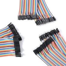 Dupont Jumper wire 10CM 20CM 30CM Male to Male + Female to Male + Female to Female Jumper Wire Dupont Cable for arduino DIY KIT
