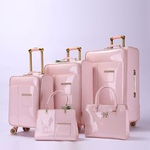 New product hot sale adult guangdong girl luggage sets innovator hand luggage suitcases
