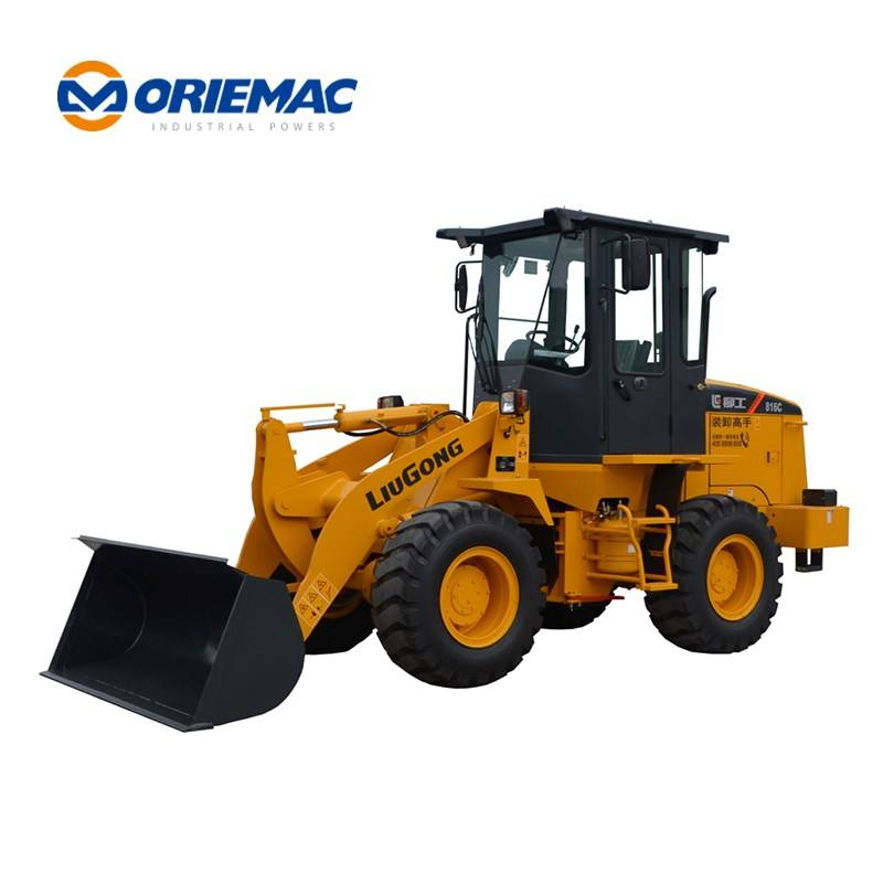 1.6Ton Wheel Loader liugong CLG816C 1.6T Front Loader for Sale