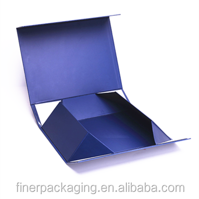 OEM Easy To Transport Book Shape Folding Paper Gift Box