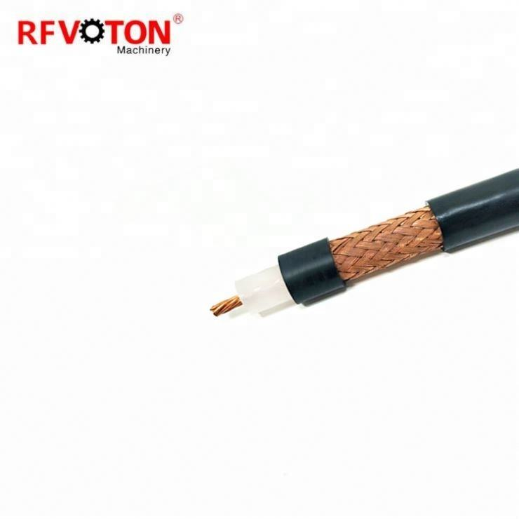 best price high quality AL FOIL 90% BRAIDING rj6 rg59 rg213 coaxial cable