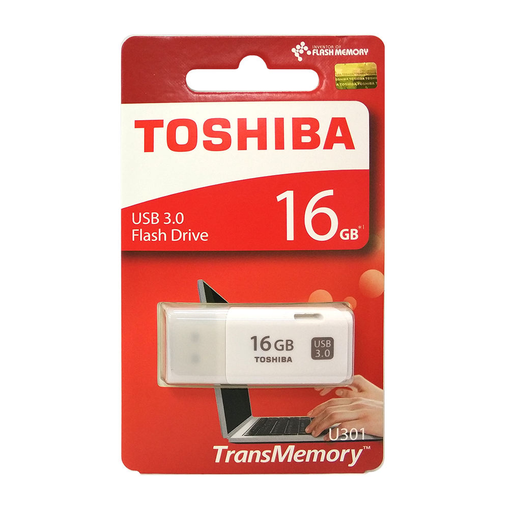 Acessório best selling new design memory stick USB flash drive TOSHIBA U301 16GB TRANSMEMORY USB3.0 flash disk