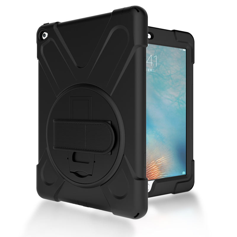Yapears Heavy Duty Bumper Protective Case for iPad Air 2 ipad 6