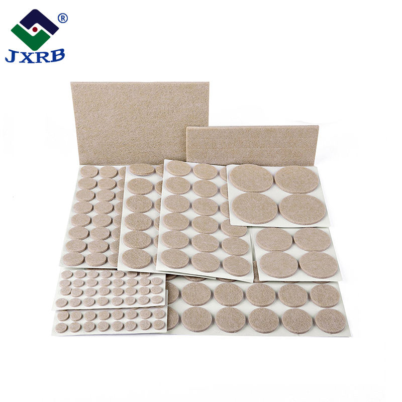 Furniture accessories sand Customized self adhesive felt furniture pads