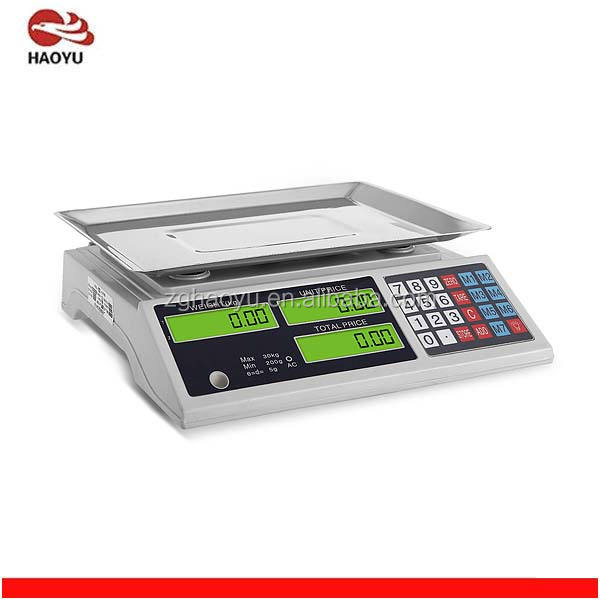 50kg electronic scale price computing scale