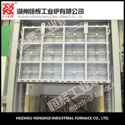 High quality china low alloy steel chamber type Gas heat treatment furnace