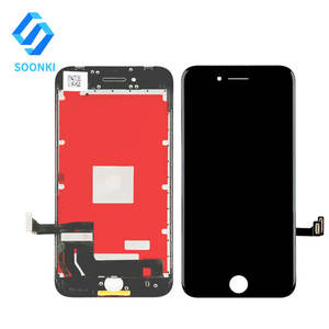 SOONKI original screen replacement with digitizer assembly+home button+tool kits for apple iphone 8 8g camera oem