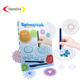 Pretty painting spirograph educational drawing tools set kids toys creative stem toys child